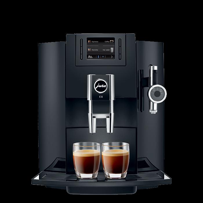 jura-e8-piano-black-caffe-crema-frontal