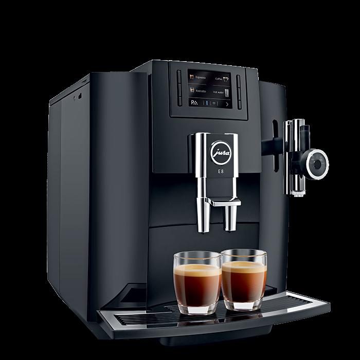 jura-e8-piano-black-caffe-crema-lateral